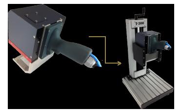MK-054 - Computerized Dot Peen Marking Portable (Pneumatic) Models - Industrial Supplies USA