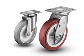 Colson Brand Casters - 1 and 2 Series Top Plate Casters - Industrial Supplies USA