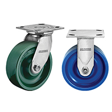 Colson Brand Casters - 8 Series and 6 Series Enforcer Kingpinless Casters - Industrial Supplies USA