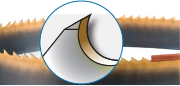 Bi-Metal TiN Coated Penetrator band saw blade - Industrial Supplies USA